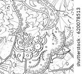 tracery seamless calming...   Shutterstock .eps vector #620078513