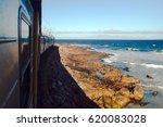 indian ocean and train cape... | Shutterstock . vector #620083028