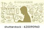 infographics background e... | Shutterstock .eps vector #620090960