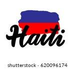 Haiti Hand Drawn Ink Brush...