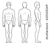 illustration of male figure  ... | Shutterstock . vector #620103269