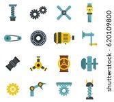 motor gears icons set logo.... | Shutterstock .eps vector #620109800
