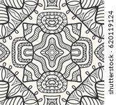 decorative doodle geometric...   Shutterstock .eps vector #620119124