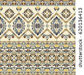 seamless ethnic patterns for... | Shutterstock .eps vector #620136413
