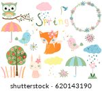 cute set for spring and summer...   Shutterstock .eps vector #620143190
