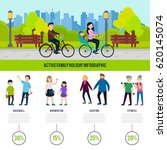healthy family infographic... | Shutterstock .eps vector #620145074
