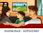 a vector illustration of family ... | Shutterstock .eps vector #620161460