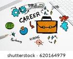 social media and network... | Shutterstock . vector #620164979