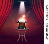 magic show poster design... | Shutterstock .eps vector #620184398