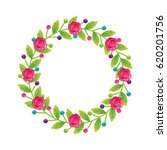 floral frame decorative icon   Shutterstock .eps vector #620201756