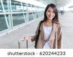 woman travel in hong kong | Shutterstock . vector #620244233