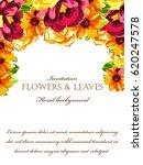 romantic invitation. wedding ... | Shutterstock .eps vector #620247578