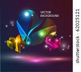 abstract vector background. | Shutterstock .eps vector #62025121