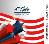 independence day with stars and ...   Shutterstock .eps vector #620254700