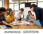 multi ethnic business person... | Shutterstock . vector #620255246