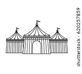 circus tent icon | Shutterstock .eps vector #620257859