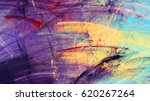 bright artistic splashes.... | Shutterstock . vector #620267264