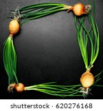 fresh onions with chives...