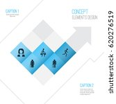 human icons set. collection of... | Shutterstock .eps vector #620276519