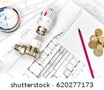 engineering heating. concept... | Shutterstock . vector #620277173