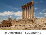 ruins of the ancient roman... | Shutterstock . vector #620280443