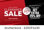 sale banner template design | Shutterstock .eps vector #620291630