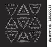 thin line vector modern... | Shutterstock .eps vector #620300258