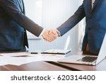 business concept  businessman... | Shutterstock . vector #620314400