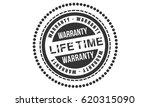 lifetime warranty label icon | Shutterstock .eps vector #620315090