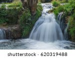 Small photo of waterfall de charmine in samognat in the ain in france