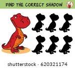 t rex dinosaur. find the... | Shutterstock .eps vector #620321174