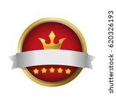 award ribbon blank   Shutterstock .eps vector #620326193