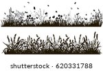 collection of grass... | Shutterstock .eps vector #620331788