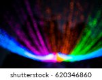 fuzzy neon light color light. | Shutterstock . vector #620346860