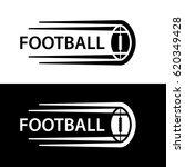 american football ball motion... | Shutterstock .eps vector #620349428