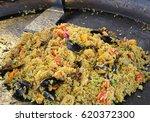 Large Pan Of Spanish Restauran...