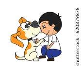 animal care concept  love ...   Shutterstock .eps vector #620379878