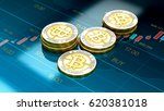 bitcoin buy   sell. btc coins... | Shutterstock . vector #620381018