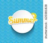 vector summer sale bright label ...   Shutterstock .eps vector #620381828