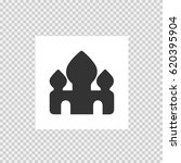 mosque vector icon eps 10.... | Shutterstock .eps vector #620395904