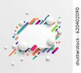 colorful blank template with... | Shutterstock .eps vector #620402090