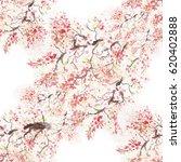 seamless pattern japanese... | Shutterstock . vector #620402888