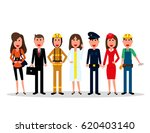 labor day. people group... | Shutterstock .eps vector #620403140