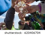 celebration  group of people...   Shutterstock . vector #620406704