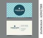 creative modern business card | Shutterstock .eps vector #620427083