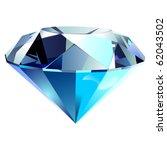 diamond vector | Shutterstock .eps vector #62043502