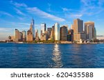 Manhattan Skyline Panorama At...