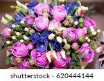 beautiful flowers background... | Shutterstock . vector #620444144