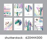 set of creative universal... | Shutterstock . vector #620444300
