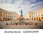 monument to duc de richelieu in ... | Shutterstock . vector #620452499